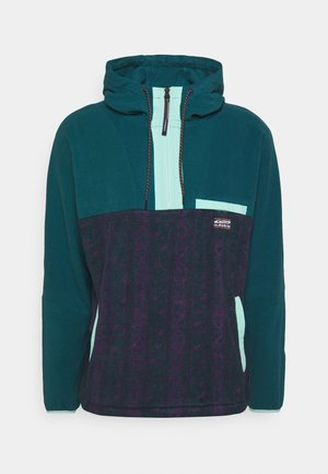GO FIRST ZIP - Fleece jumper - atlantic deep/no destination