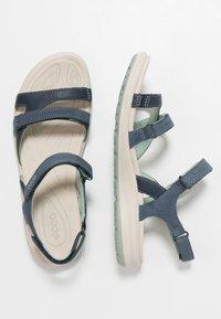 ECCO - CRUISE II - Walking sandals - marine/ice flower - 3
