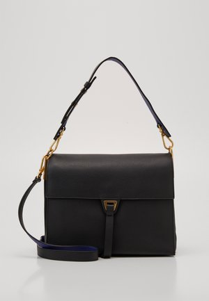 LOUISE - Handbag - noir/curacao