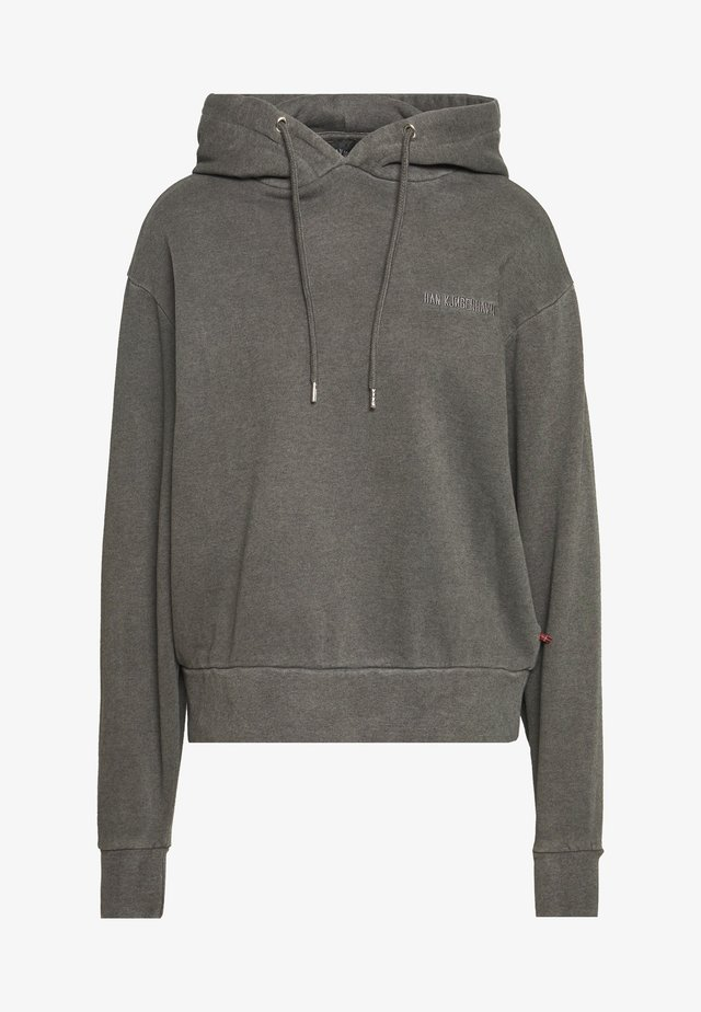 BULKY HOODIE - Jersey con capucha - dark grey