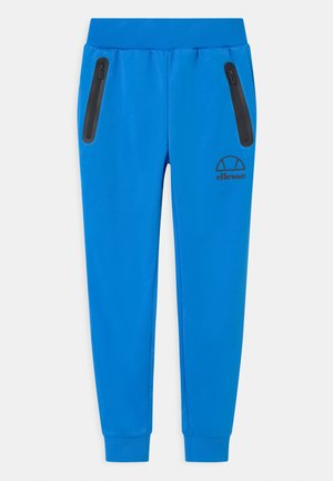 DESTRO UNISEX - Tracksuit bottoms - neon blue