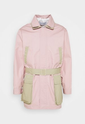ETHAN - Parka - dusty rose/bone