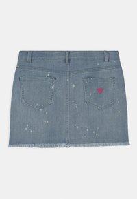 Guess - JUNIOR - Minifalda - blue denim - 1