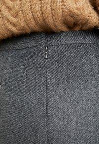 Esprit Collection - SKIRT - Minisukně - dark grey - 5