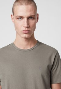 AllSaints - BRACE - Basic T-shirt - mottled grey - 3