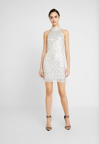 Lace & Beads - NADIA MINI - Cocktail dress / Party dress - silver - 0