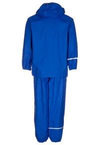 CeLaVi - RAINWEAR SUIT BASIC UNISEX - Waterproof jacket - ocean blue - 1
