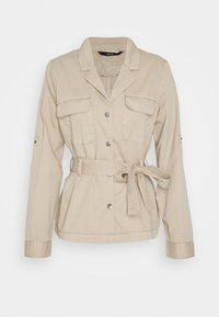 Vero Moda - VMFLAME CARGO BELT JACKET - Summer jacket - beige - 4