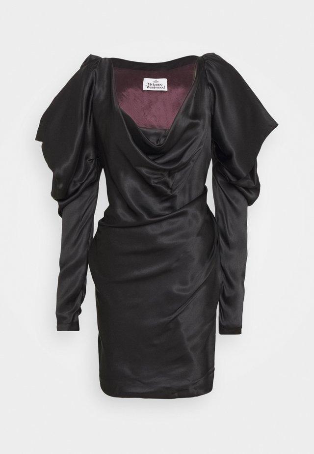 NEW VIRGINIA MINI DRESS - Juhlamekko - black