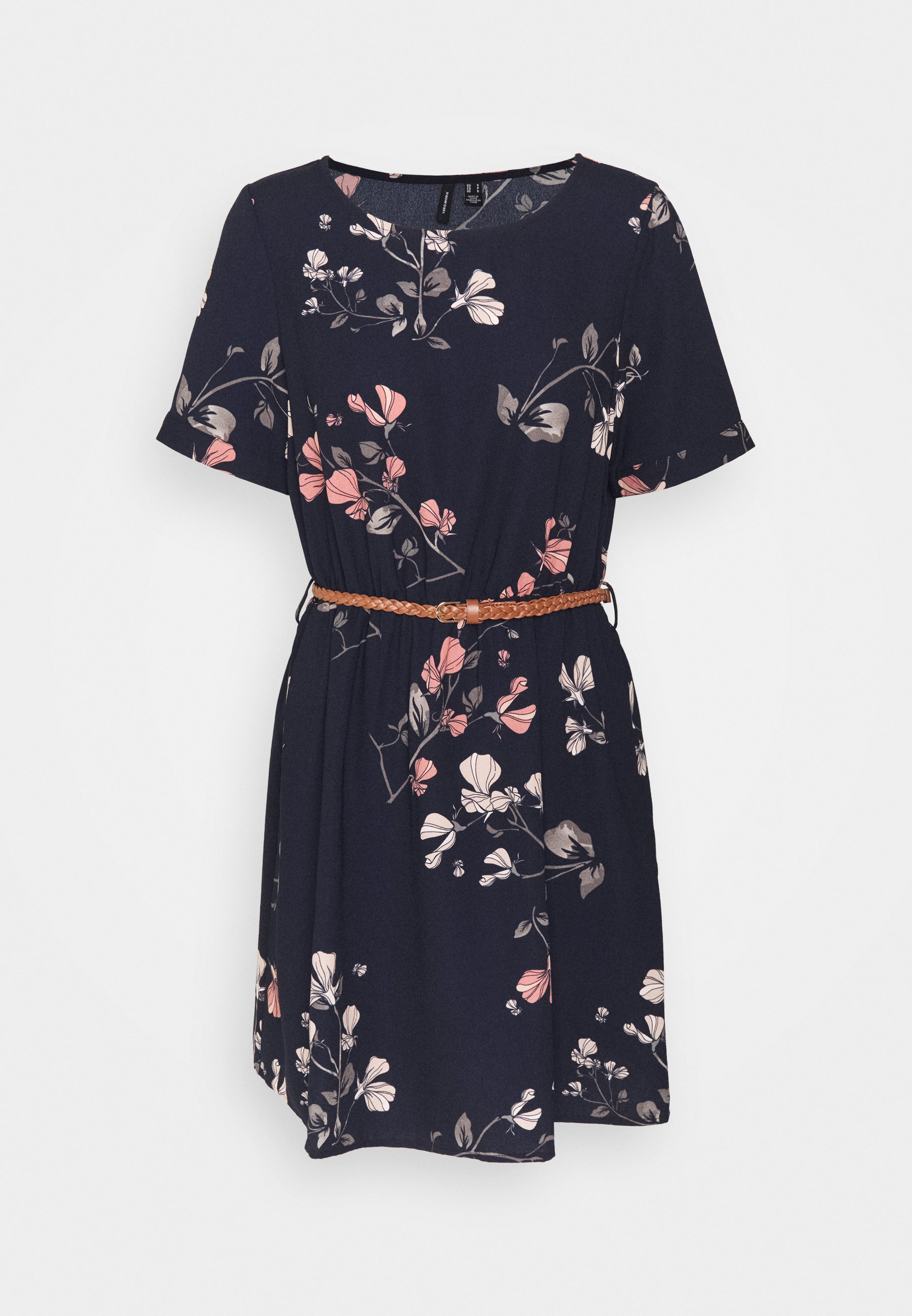 Donna VMANNIE BELT SHORT DRESS - Vestito estivo