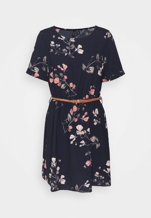 VMANNIE BELT SHORT DRESS - Vapaa-ajan mekko - night sky