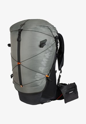 DUCAN SPINE - Hiking rucksack - granit-black