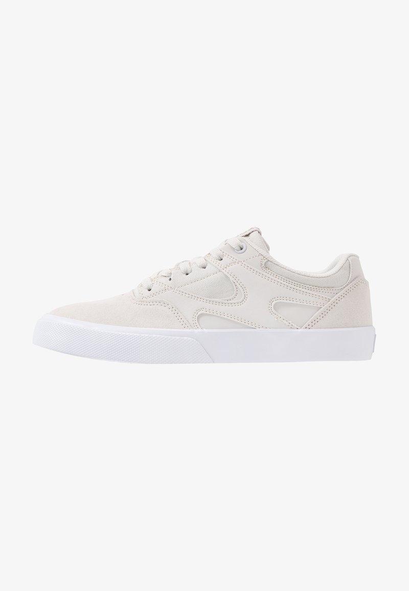 DC Shoes - KALIS VULC UNISEX - Zapatillas - grey/white