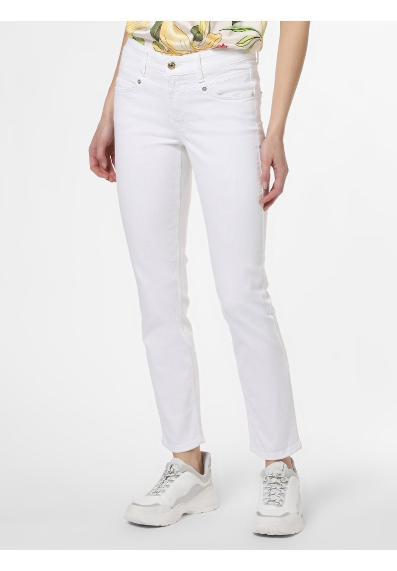 Cambio - Straight leg jeans - weiß