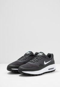 Nike Golf - AIR MAX 1 G - Golf shoes - black/white/anthracite - 2