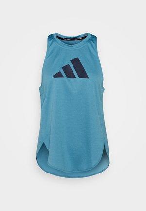 LOGO TANK - Koszulka sportowa - blue