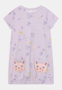 Lindex - MINI CAT POCKETS - Jersey dress - light lilac - 0