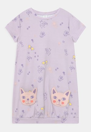 MINI CAT POCKETS - Jersey dress - light lilac