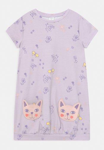 MINI CAT POCKETS - Jersey dress - light lilac