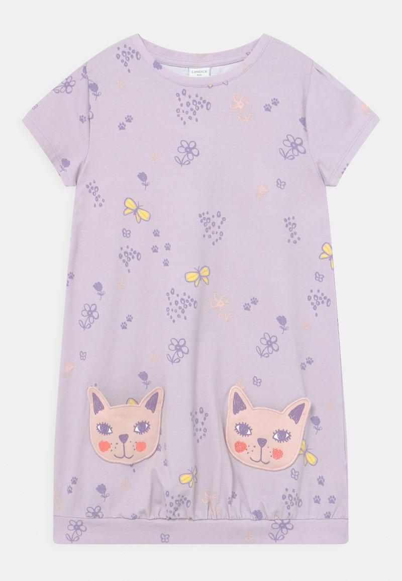Lindex - MINI CAT POCKETS - Jersey dress - light lilac