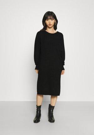 IHKAVA - Gebreide jurk - black