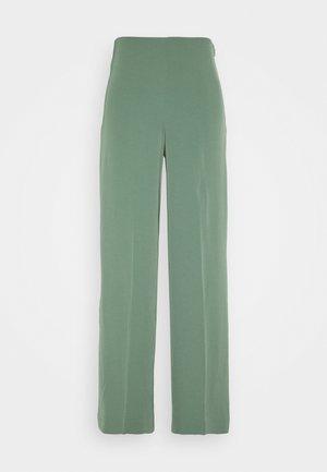 JULIA FLUID TROUSER - Trousers - dark green