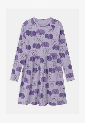 BABY FLUFFY DOG - Jersey dress - purple