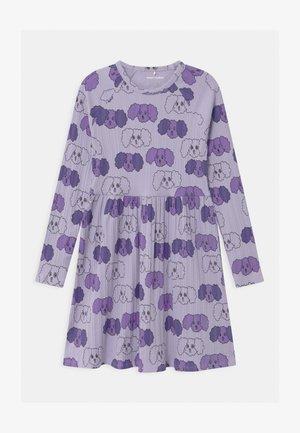 BABY FLUFFY DOG - Robe en jersey - purple