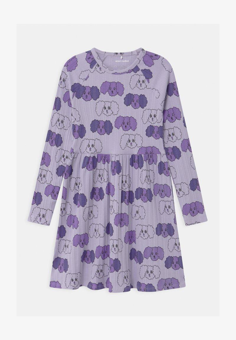 Mini Rodini - BABY FLUFFY DOG - Jersey dress - purple