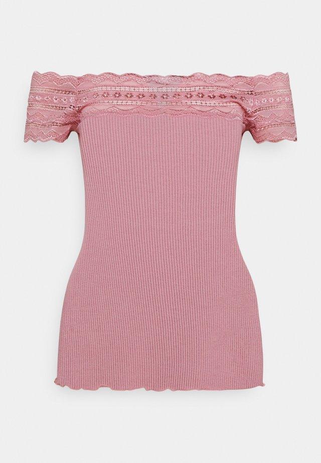Print T-shirt - zephyr rose