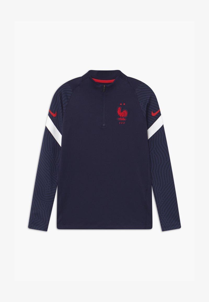 Nike Performance - FRANKREICH DRIL UNISEX - Oblečení národního týmu - blackened blue/white/university red