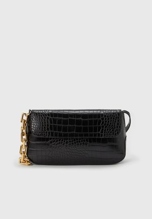 FABBY SHOULDERBAG - Handbag - black-gold