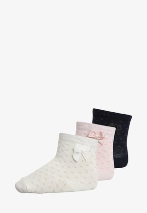 3 PACK - Socks - white