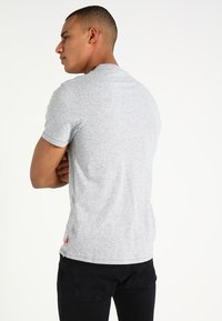 Levi's® - T-shirt con stampa - grey heather - 2