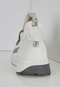 ECCO - ZIPFLEX - Lace-ups - white - 2