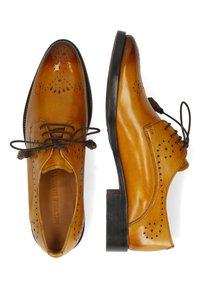 Melvin & Hamilton - BETTY  - Šněrovací boty - indy yellow/burgundy - 1