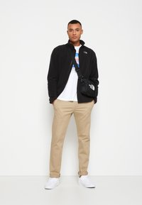 The North Face - GLACIER FULL ZIP NEW - Fleecejacka - black - 1