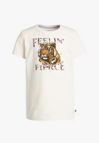 WE Fashion - Camiseta estampada - off-white - 0