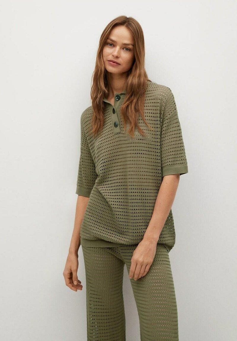 Mango - Polo shirt - khaki