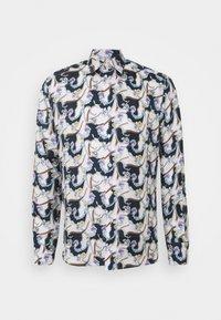Eton - SOFT CHANDELIER - Overhemd - blue silk - 0