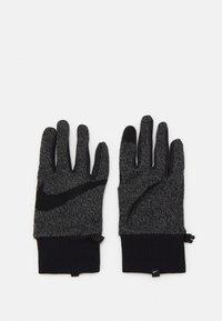 Nike Performance - MEN'S HYPERSTORM KNIT GLOVES - Guantes - smoke grey/black/black - 0