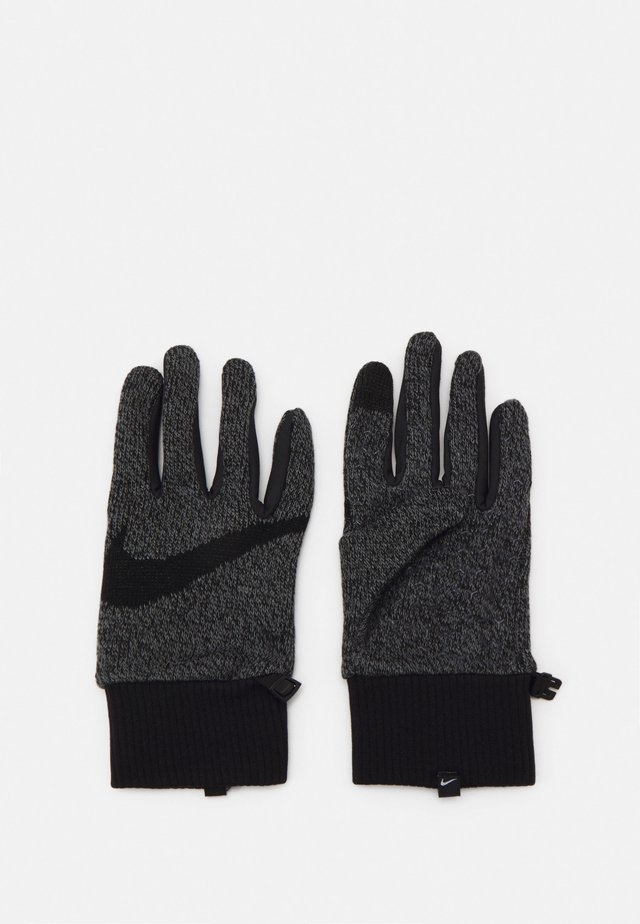 MEN'S HYPERSTORM KNIT GLOVES - Sormikkaat - smoke grey/black/black