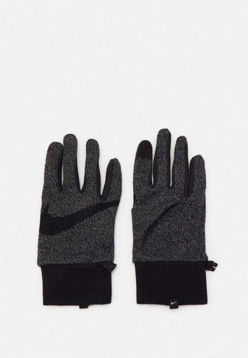 Nike Performance - MEN'S HYPERSTORM KNIT GLOVES - Guantes - smoke grey/black/black