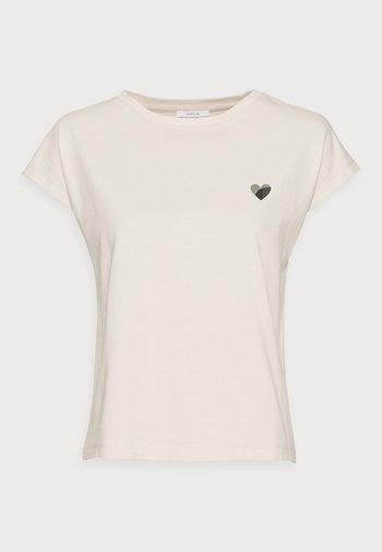 SULAKI - Basic T-shirt - pebble stone