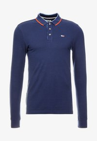 Tommy Jeans - STRETCH LONGSLEEVE  - Polo shirt - dark blue - 3