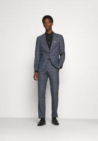 Matinique - CHECK STRETCH - Suit - dust blue - 1