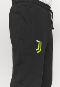adidas Performance - JUVENTUS TURIN  - Club wear - black/acid yellow - 5