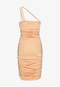Nly by Nelly - ASYMMETRIC STRAPS DRESS - Kjole - orange - 1