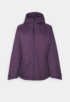 HIGHSIDE VI - Winter jacket - aubergine