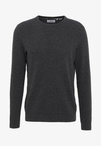 Produkt - PKTHNN  - Sweter - dark grey melange - 4